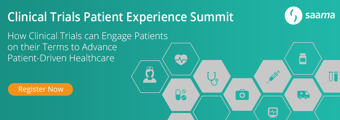 Clinical trials patient experience summit banner