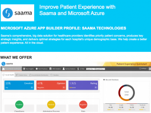 Improve Patient Experience with Saama and Microsoft Azure